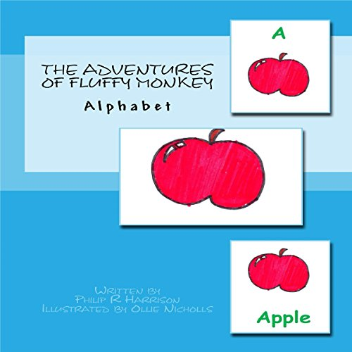 The Adventures of Fluffy Monkey: Alphabet audiobook cover art