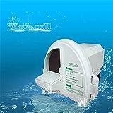 Drohneks Máquina de Yeso Modelo de Yeso Máquina de Corte Máquina de Yeso Molino de Agua Pulidora de Yeso Dental Modelo de máquina Dental (220V, la máquina con la Rueda de Disco de Resina)