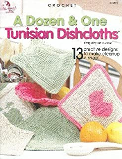 A Dozen & One Tunisian Dishcloths (Annie's Attic CROCHET)