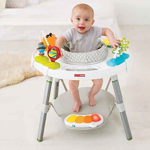 Skip Hop Explore and More Baby's View 3-Stage Interactive Activity Center, Multi-Color, 4 Months