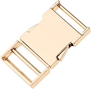F Fityle Retro Metal Buckle for Webbing Strap Bag Fastener Side Release Clasp Clip Accessory