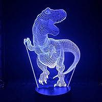3Dランプバッテリー駆動の16色、リモコンの装飾的なベッドサイド3DスライドLEDナイトライト付き