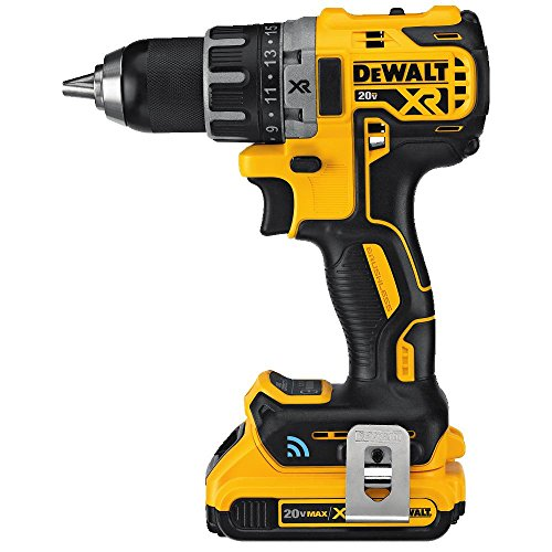 DEWALT 20V MAX XR Brushless Drill/Driver Kit with Tool Connect Bluetooth (DCD792D2)