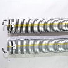 2 stuks torsieveren R702 + L702 / L21 R21 voor Hörmann garagedeuropener.