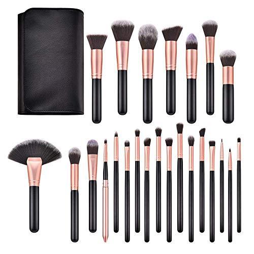 GONGFF Pinceau de Maquillage Complet Multi-Fonction de Pinceau de Maquillage Foundation Foundation Outil de Fard à paupières réparation d'ombres à paupières, A