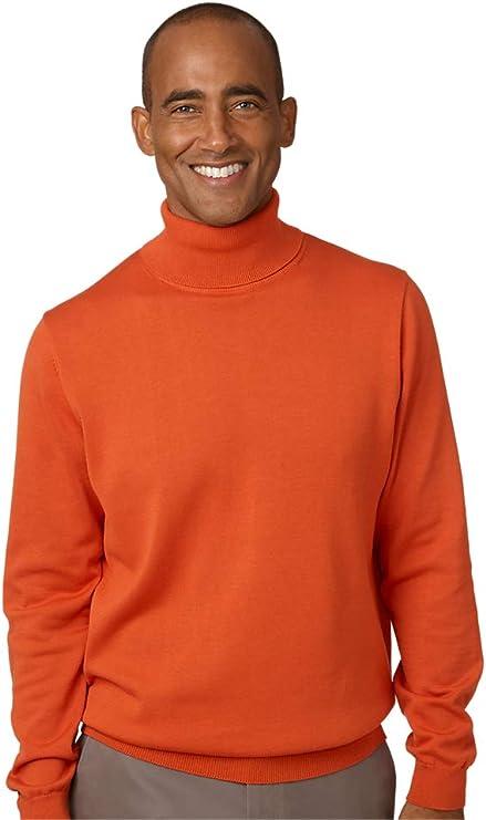 Mens Vintage Shirts – Casual, Dress, T-shirts, Polos Paul Fredrick Mens Supima Cotton Turtleneck Sweater $69.00 AT vintagedancer.com