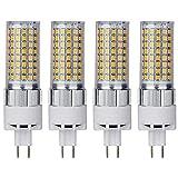 G8.5 Bombilla LED 16W Luz de maíz 1600lm Reemplazo de brillo 150W Lámpara de haluro de metal (4...