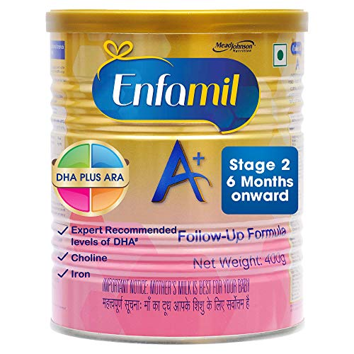 Enfamil A+ Stage 2 Follow Up Formula - 400 g (6 Months Onward)