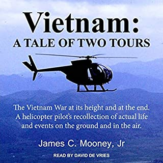 Vietnam: A Tale of Two Tours                   By:                                                                                                                                 James C. Mooney Jr.                               Narrated by:                                                                                                                                 David de Vries                      Length: 10 hrs and 22 mins     3 ratings     Overall 4.7