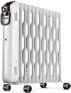 Calentador Radiador Lleno De Aceite De 2200 W, Calentador Eléctrico Portátil 13Fin 3 Configuraciones De Calor, Protección Contra Sobrecalentamiento E Inclinación Para Uso Doméstico Y De Oficina