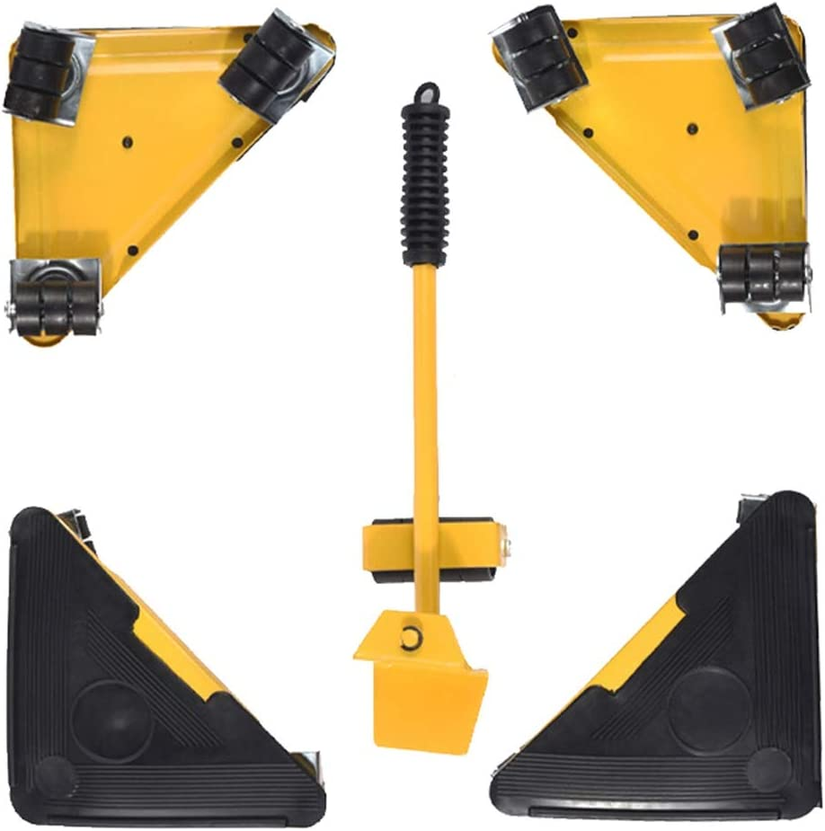 OUUCL Furniture Lifter New York Mall Easy Moving Directly managed store Sliders Packs Tool Mover 5 Se
