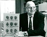 Dr. Hans Riegel, GF HARIBO - Vintage Press Photo