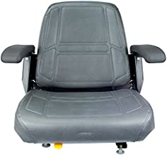 MaxPower 14845 Comfort Ride Mower Seat with Armrests