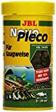 *JBL NovoPleco Alleinfutter für kleine Saugwelse, Tabletten 250 ml, 30311