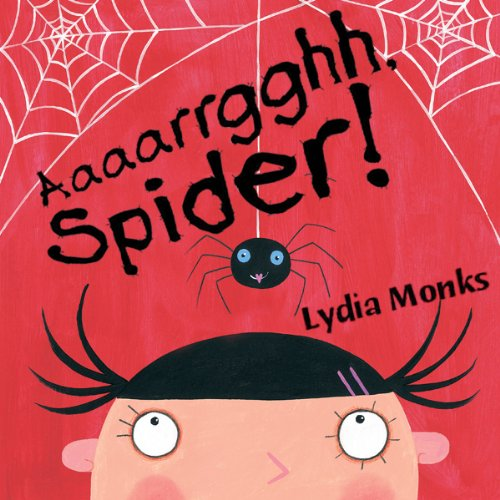 Aaaarrgghh, Spider! audiobook cover art