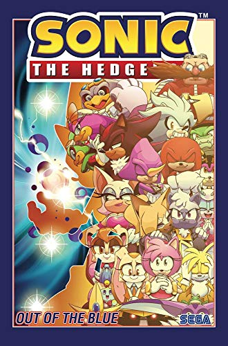 Sonic The Hedgehog Vol. 8: Out of the Blue (Sonic The Hedgehog (2018-))