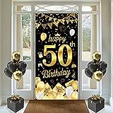 50. Geburtstag Deko, 50 Geburtstagsbanner für Männer und