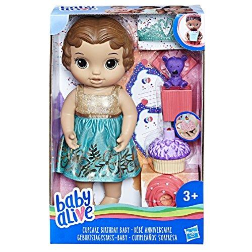 Baby Alive - Bebé Cupcake Birthday (Hasbro E0597ES1)