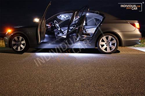 Innenraumbeleuchtung SET für 5er E60 Limousine - Cool-White Panoramadach Nein