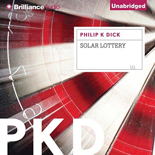 Solar Lottery audiobook cover art