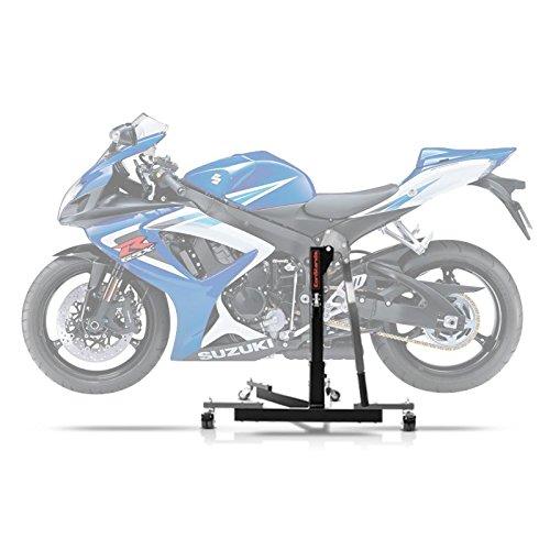 ConStands Power Evo-Zentralständer Kompatibel für Suzuki GSX-R 750 06-07 Grau Motorrad Aufbockständer Montageständer Heber
