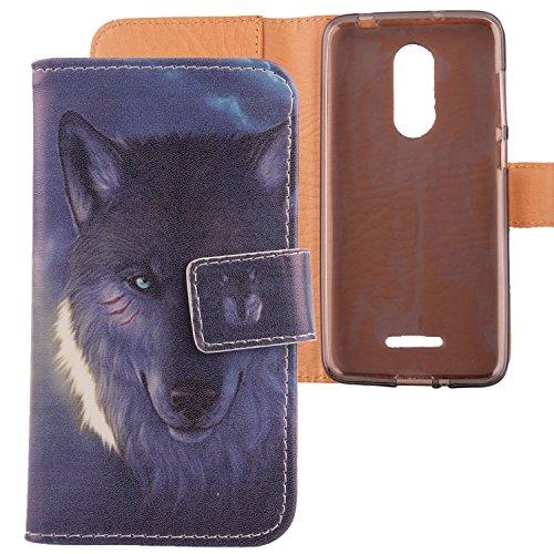 Lankashi PU Flip Leder Tasche Hülle Hülle Cover Schutz Handy Etui Skin Für Coolpad Torino S 4.7