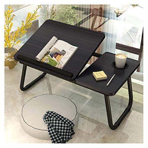 Laptop Desk - Adjustable Laptop Bed Table, Folding Laptop Desk, Portable Laptop Desk For Bed Sofa Gaming, Bed Portable Table. Bed Desk Height Adjustable Lap Desk, Laptop Tray (Black)