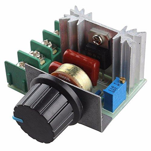 220V 2000W Controlador de Velocidad del Motor SCR dimmers de atenuación Termostato regulador de Voltaje
