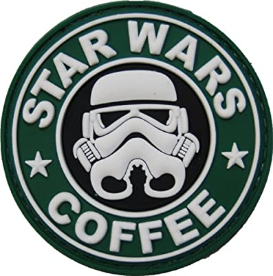 Star Wars Coffee PVC Morale Patch by NEO Tactical Gear