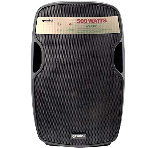 """AS 08P - diffusore attivo a 2 vie 8"""" con 500 watt di picco per feste e karaoke"""