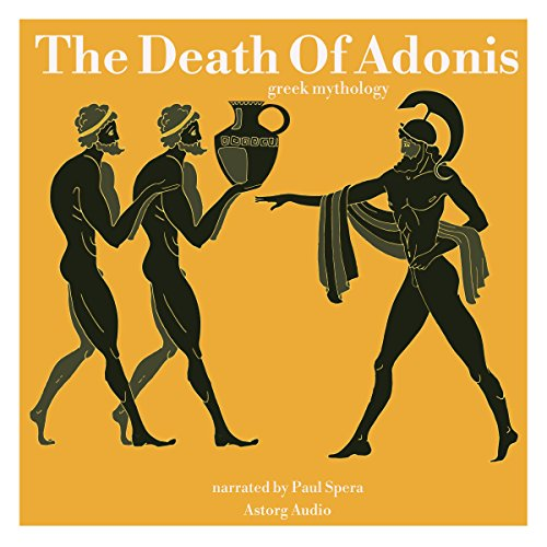 The Death Of Adonis audiobook cover art