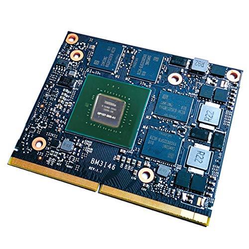 DAKERTA MXM-Schnittstelle GTX1050T Game Video Discrete Graphics 1556-1771MHz / 8008MHz I2M5 (Schwarz)