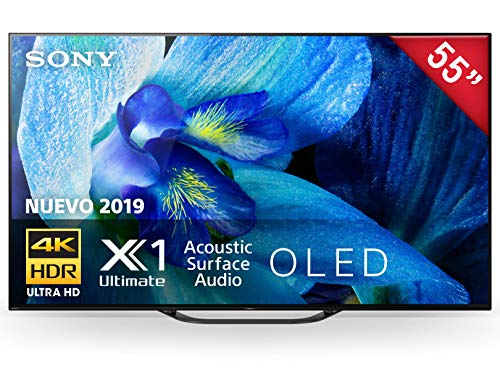 Sony Pantalla 55¨OLED 4K UHD Android TVXBR-55A8G
