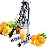 IHAYNER Commercial Manual Juicer Stainless Steel Manual Citrus Juicer Industrial Fruit Press...