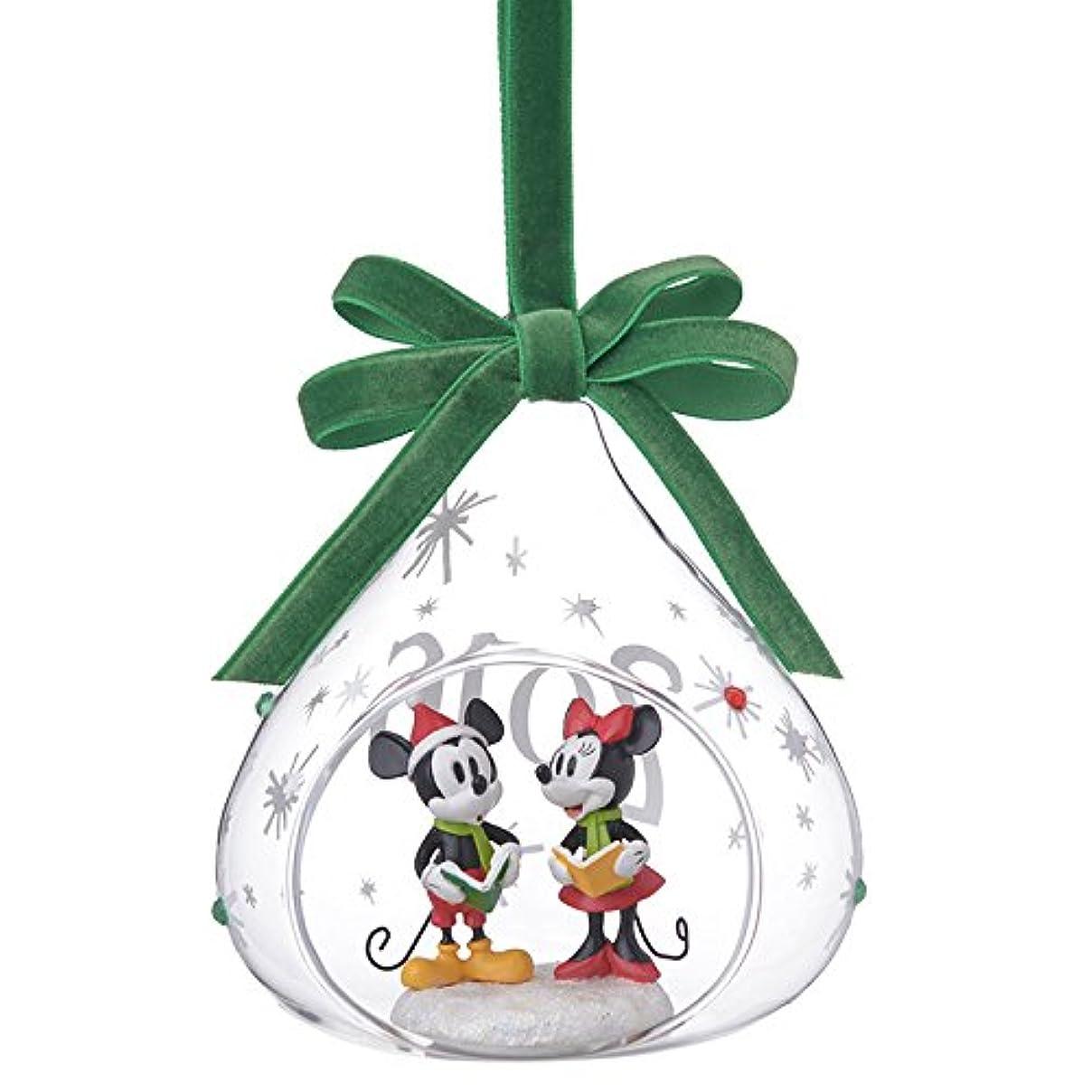 境界チート好色な【 ディズニー 公式 】 2016 クリスマス 限定 オーナメント  ミッキー & ミニー ( Disney プレゼント ギフト グッズ )正規品