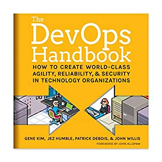 The DevOps Handbook     How to Create World-Class Agility, Reliability, and Security in Technology Organizations              By:                                                                                                                                 Gene Kim,                                                                                        Patrick Debois,                                                                                        John Willis,                   and others                          Narrated by:                                                                                                                                 Ron Butler                      Length: 12 hrs and 55 mins     169 ratings     Overall 4.6
