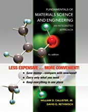 Fundamentals of Materials Science and Engineering, Binder Ready Version: An Integrated Approach