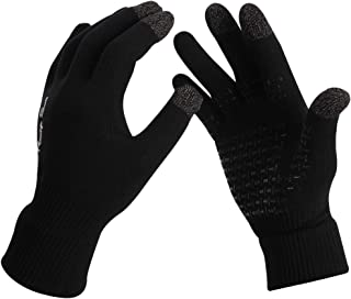RANDY SUN Touch Screen Gloves, Windproof Waterproof Safety Resistance Bike/Work/Mountaineering/Hiking/Skiing Gloves
