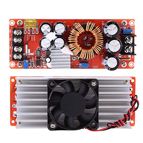 Módulo convertidor elevador 1500W 30A DC-DC suministro de potencia elevador convertidor en 10-60V Salida 12-90V