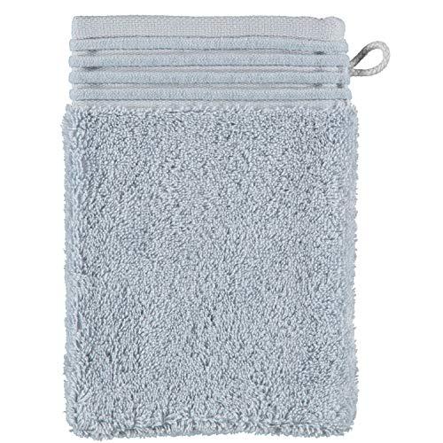 möve Loft gant de lavage 15 x 20 cm en 100% coton (Spinair), silverstone