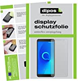 dipos I 2X Schutzfolie matt kompatibel mit Alcatel 3C Folie Bildschirmschutzfolie