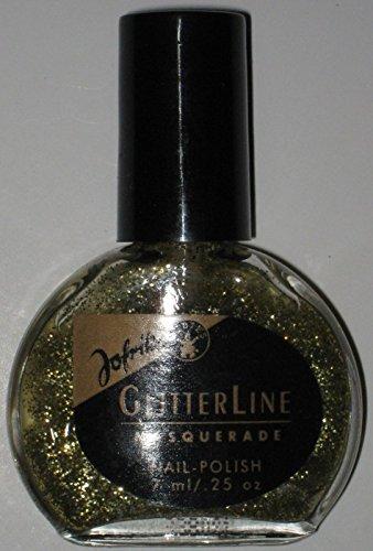 Jofrika Glitterline Nagellack Gold-Glitter 7ml