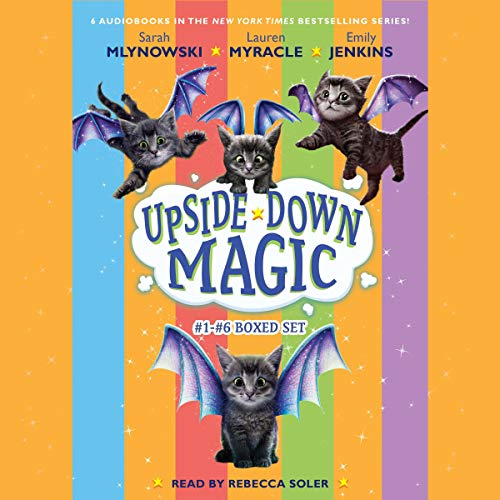 Couverture de Upside Down Magic Collection (Books 1-6)