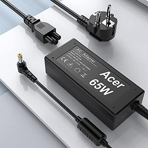45W 65W Acer Laptop Ladegerät, Rocketek AC Netzteil Notebook Ladekabel 5.5mm X 1.7mm für Acer Aspire Chromebook 15 14 13 R11 B5 CB5-571 C720 C720p C740 Power Cord,CB3-111-C19A, CB3-111-C670 19V 3.42A