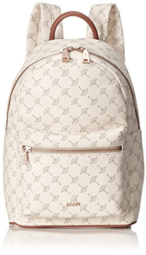 Joop! Damen Cortina Salome Backpack Mvz Rucksack, Weiß (offwhite), 15x33x23 cm