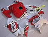 Accessories Hot Sales,for Suzuki SV400 SV650 98 99 00 01 02 Fairing Kits Lucky Strike SV 400 SV 650 1998-2002 Bodywork Motorcycle Fairings