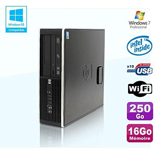 HP PC Compaq Elite 8100 SFF G6950 2,8 GHZ 16 GB 250gb WiFi Gravierer W7 Profi