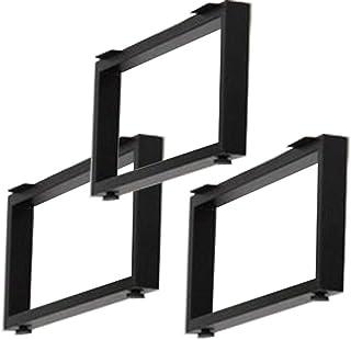 エイ・アイ・エス(AIS) テーブルキッツ脚 ロータイプ タイプ ブラック 3組セット (鬼目ナット)