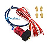 Creality Ender 3 /Pro/V2 3D Printer Assembled Extruder MK8 HotEnd Kit 24V with 0.4mm Nozzle Upgrade with Low Friction Creality-Capricorn Tubing
