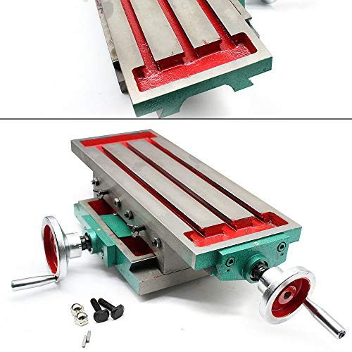 450 * 170 mm Multifunktion Frästisch Arbeitstisch Fräsmaschine Bohrtisch Koordinatentisch Kreuztisch Unterstützungstabell Werkzeugmaschinen